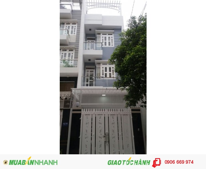 Bán nhà đường số 10 Khu Làng Hoa Cây Trâm, phường 8, Gò Vấp, đối diện UBND