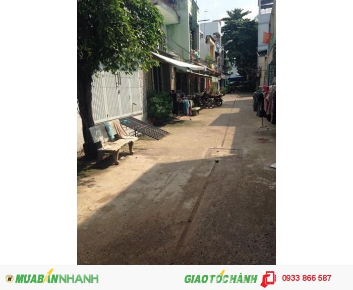 Bán Nhà Dt(4x10)M,Giá 1.4 Tỷ, Đường Hương Lộ 2