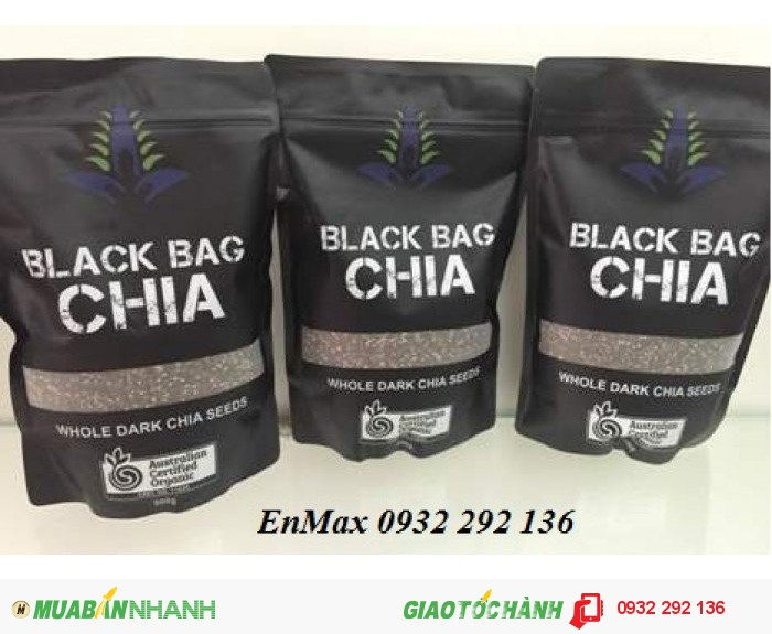 Hạt Chia Úc Black Bag Chia3