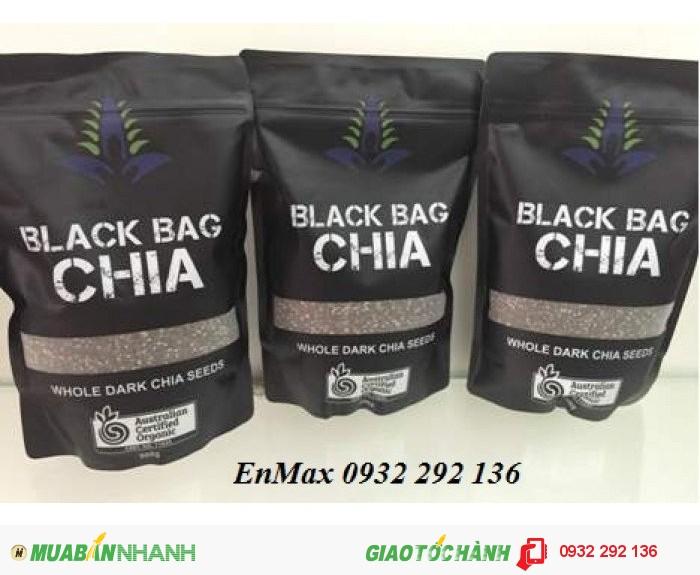 Hạt chia úc black bag chia1