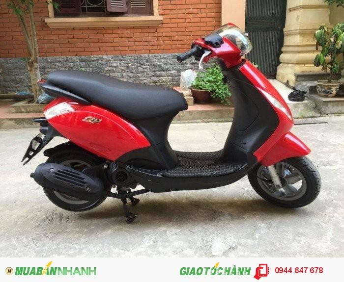 Bán xe piaggio Zip 100 xe Nk biển 30Y 2010 màu đỏ giá 18tr500 lên full đồ việt