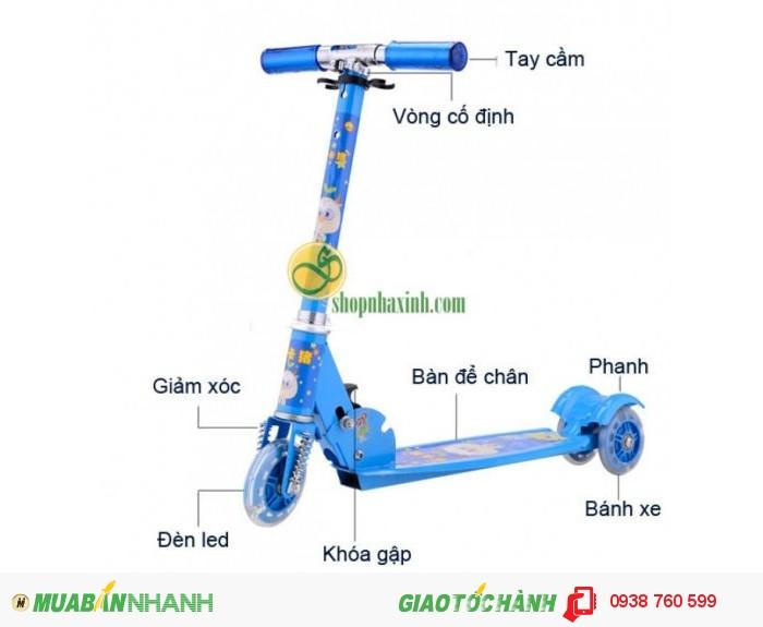 Xe Trượt Scooter 3 Bánh Phát Sáng NX1093