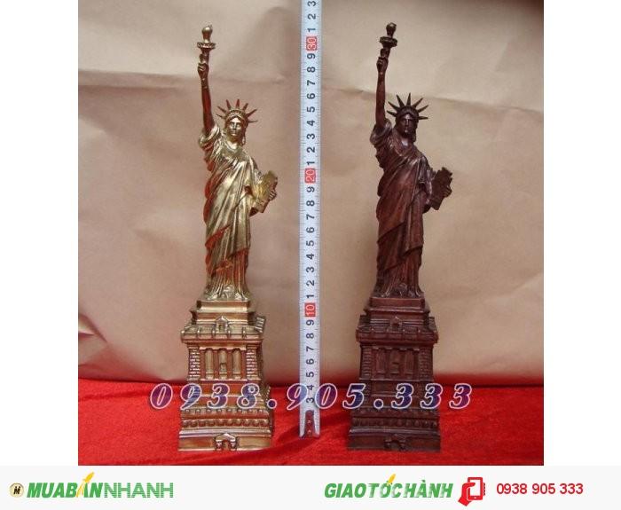 Tượng Nữ thần Tự do, Statue of Liberty bằng đồng vàng0