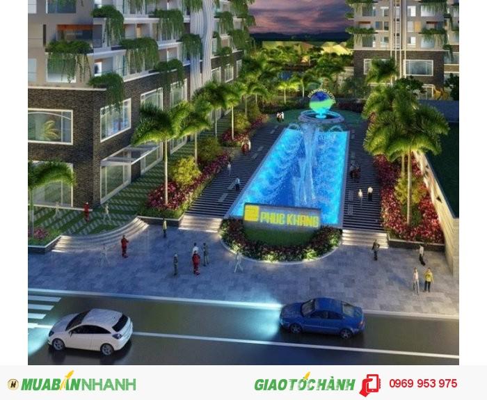 Căn hộ mặt tiền Quận Tân Phú