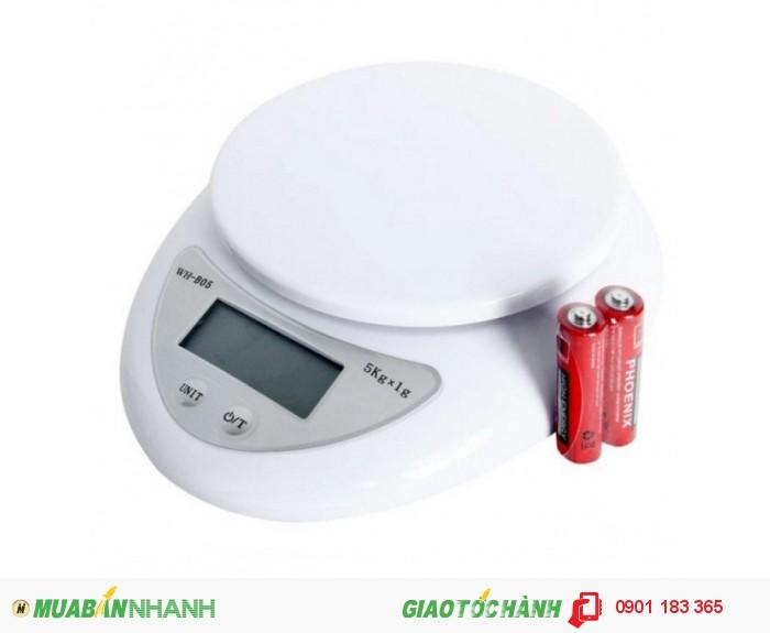 Cân Điện Tử Nhà Bếp WH-B05 5kg - CĐT5kg3