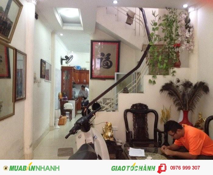 Chính chủ bán gấp nhà 4 tầng ngõ 110 Trần Duy Hưng, 48m2, 3.8 tỷ