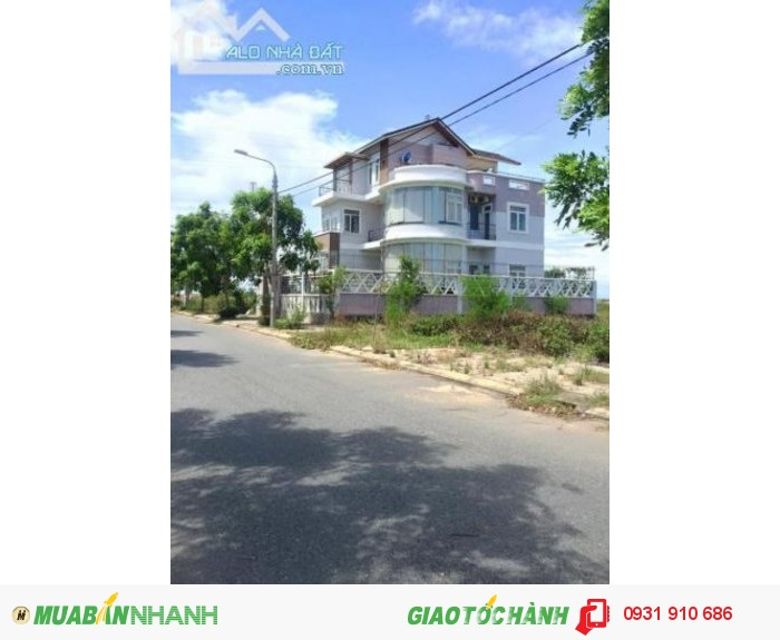 Bán Lô Đất Biệt Thự Nam Việt Á Dt: 285 M2