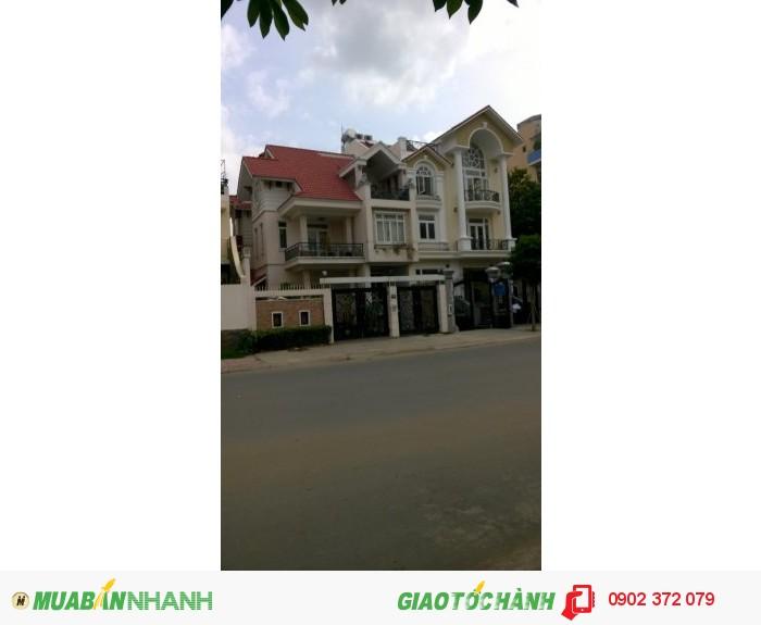 Bán căn nhà phố an phú an khánh, dt 4x20, dt sử dụng 250m2 , 1 trệt 2 lầu áp mái.