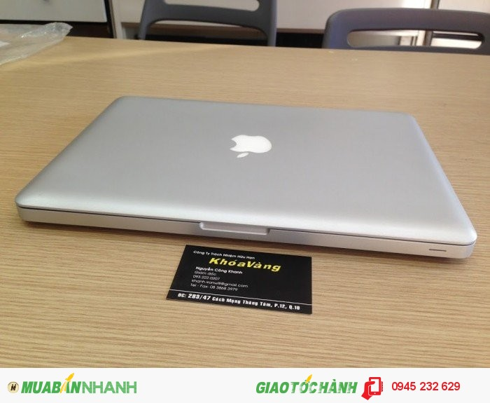 Macbook Pro 2011 13 inch MC700 | RAM: 4GB  DDR3 bus 1333Mhz ( còn trống 1 khe để nâng cấp upmax 16G)