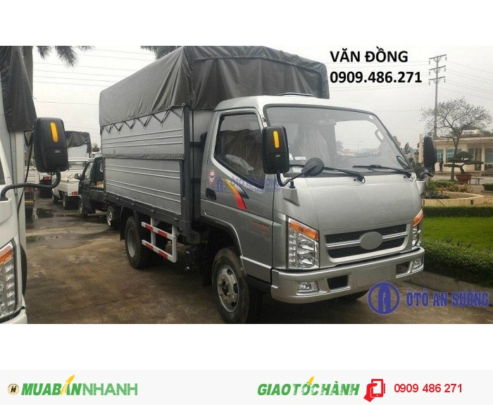 Xe tải 2,4 tấn vào thành phố động cơ huyndai giá rẻ cửu long 2