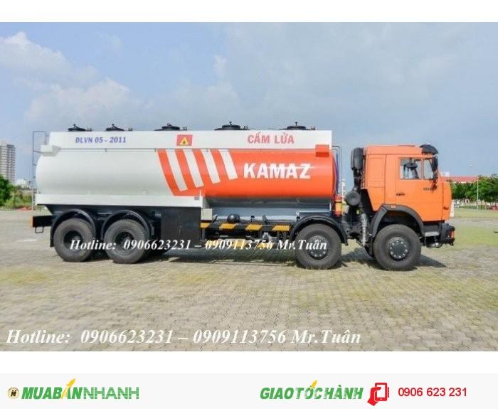 Xăng dầu Kamaz 23m3 mới tại Bình dương