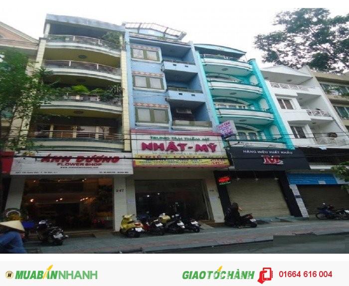 Bán gấp nhà MT Trần Quang Khải, P.Tân Định, Quận 1; 4mx22m, 6 tầng, giá 16.8 tỷ