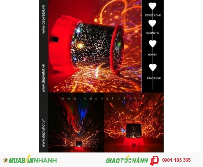Phòng ngủ của bạn sẽ lung linh hơn với đèn tạo sao, chiếu sao này - MSN388013