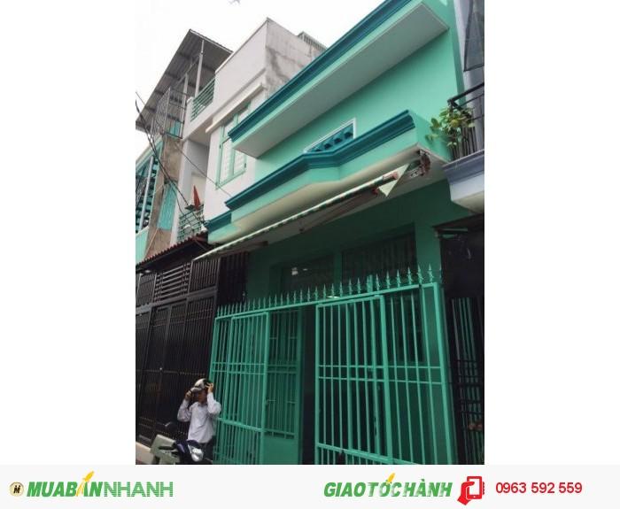 Bán nhà 4.1m x 11m 1.1 tỷ XD 3PN ngay khu dân cư tái định cư Cây xăng Vĩnh Lộc Bình Hưng Hòa B