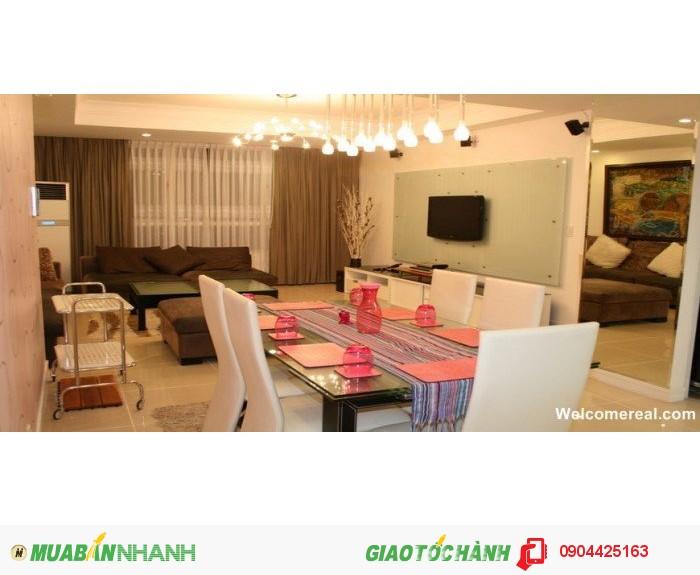 Cho thuê căn hộ The Manor 2PN, DT 114m2, tầng 25