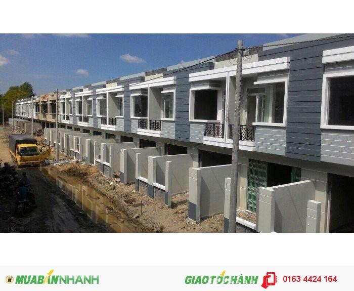 Nhà mới hóc môn 1 trệt 1 lầu SHR 4x12