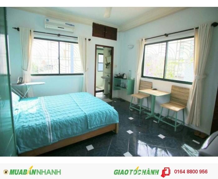 Cho thuê căn hộ ngắn và dài hạn quận 1, full nội thất, không chung chủ, có bếp, đường Điện Biên Phủ