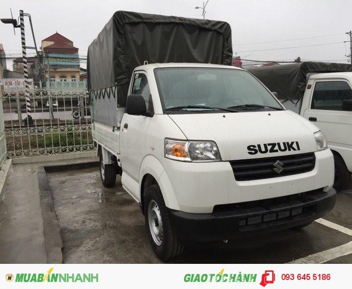 Bán xe Suzuki Carry Pro thùng bạt mầu trắng