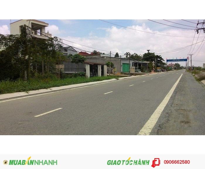 Đất Mặt Tiền Tân Liêm Quốc lộ 50 305m2  Đối Diện KDC Phong Phú