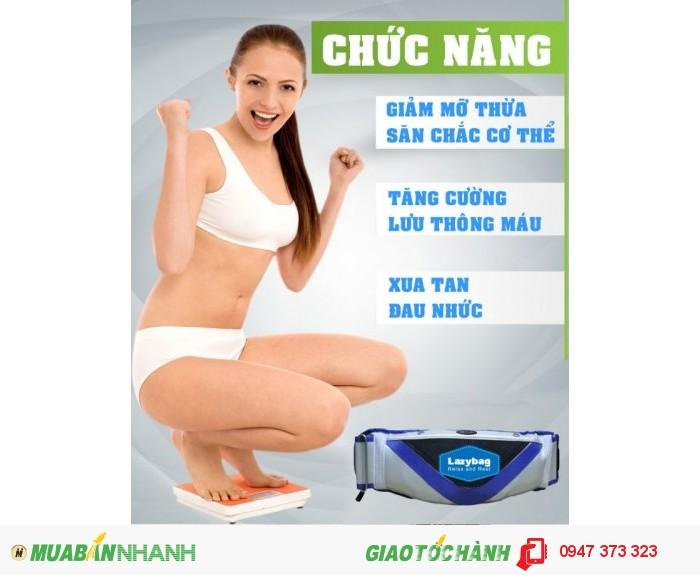 Đai Massage bụng Lazybag LZ-MB008