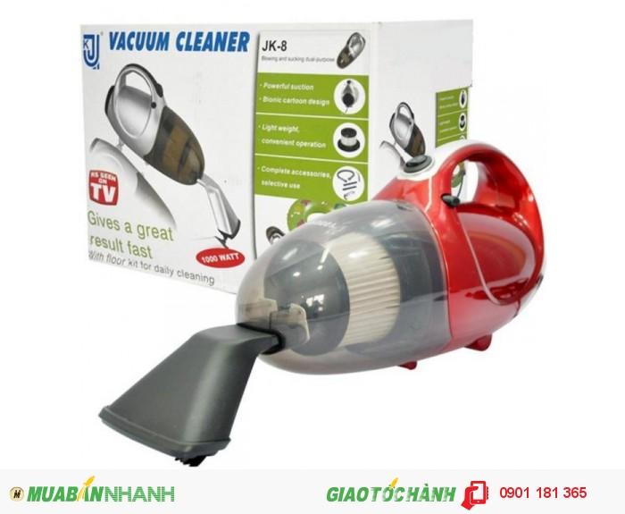 Máy hút bụi cầm tay Vacuum Cleaner JK 8 sở hữu hình dáng sang trọng Dung tích lớn0