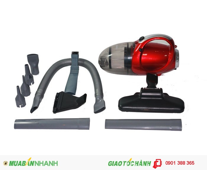 Máy hút bụi cầm tay Vacuum Cleaner JK 8 sở hữu hình dáng sang trọng Dung tích lớn4