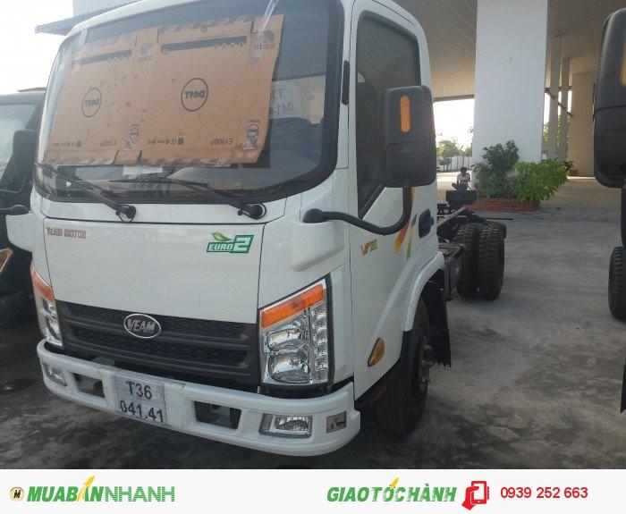 Xe tải veam vt 252 máy hyundai 2016 2490kg