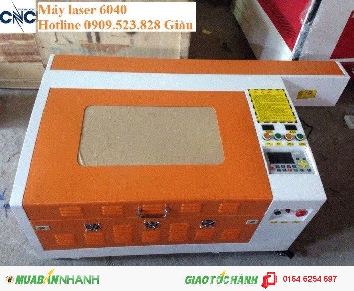Máy Laser 6040 cắt khắc trên mọi vật liệu phi kim giá ưu Việt