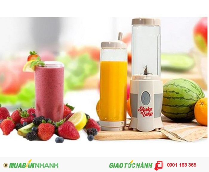 Máy xay sinh tố cầm tay 2 cốc Shake 'n Take chất lượng, giá hấp dẫn - MSN388022