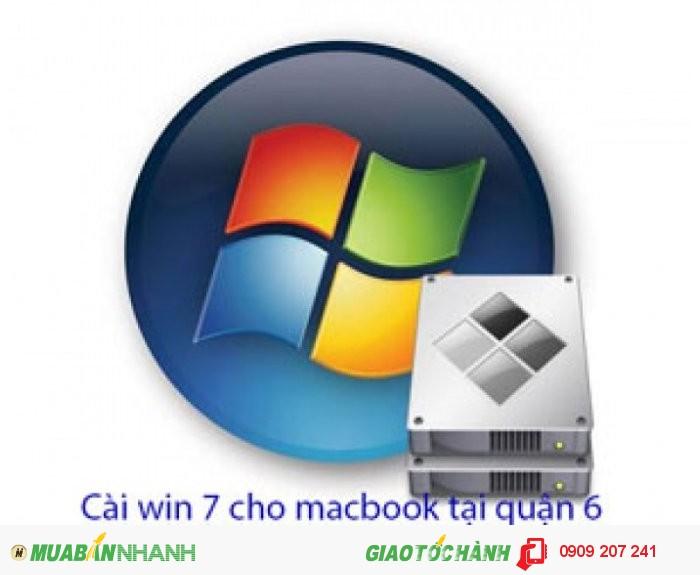 Dịch vụ cài win 7 cho macbook tại quận 6