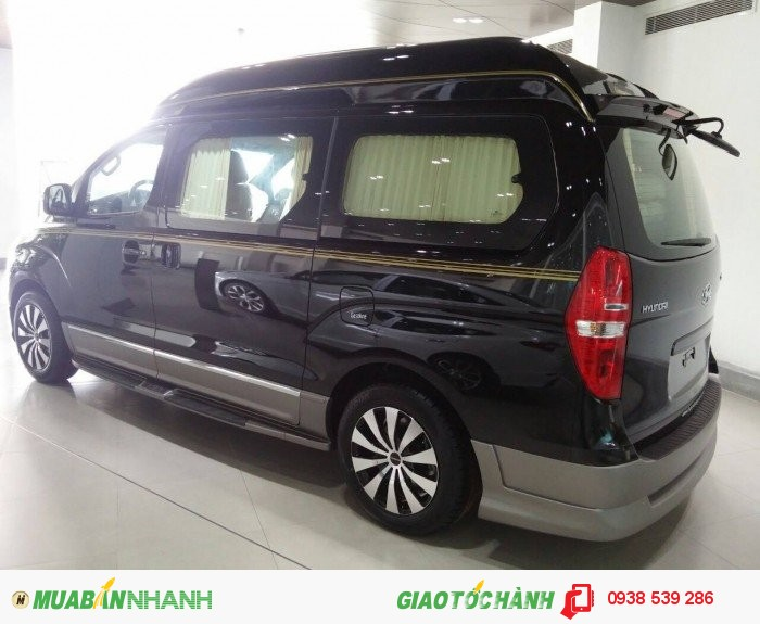 Hyundai Starex limousine màu đen 2016 chỉ từ 685tr, hỗ trợ vay ngân hàng tối đa. 1