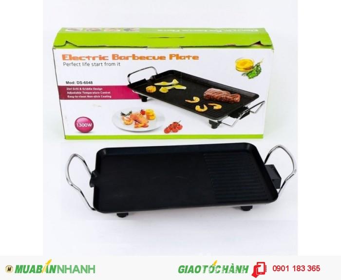 Với thiết kế đẹp mắt chiếc vỉ nướng không khói Electric Barbecue Plate đến từ hãng Hàn quốc sẽ giúp bạn nướng đồ ăn ngon hơn và dễ dàng hơn.2