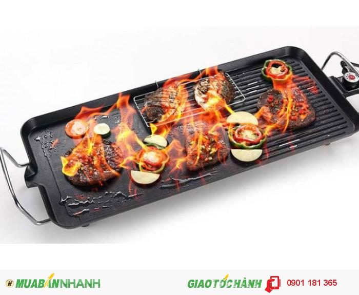 Vỉ nướng điện Electric Barbecue Plate Hàn Quốc model mới nhất hiện nay giúp bạn tha hồ thưởng thức những món nướng thơm ngon tại nhà.