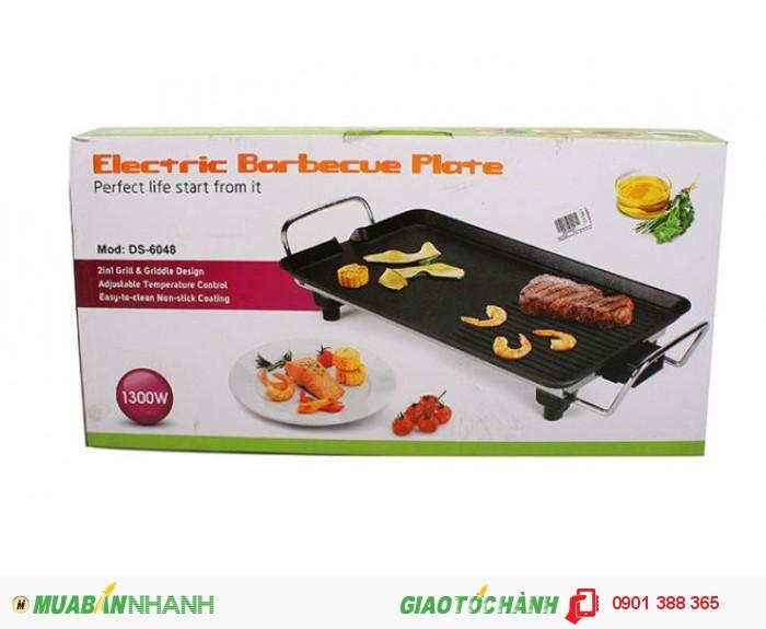 Vỉ Nướng Điện cao cấp ELECTRIC BARBECUE PLATE DS-6048  - MSN388027
