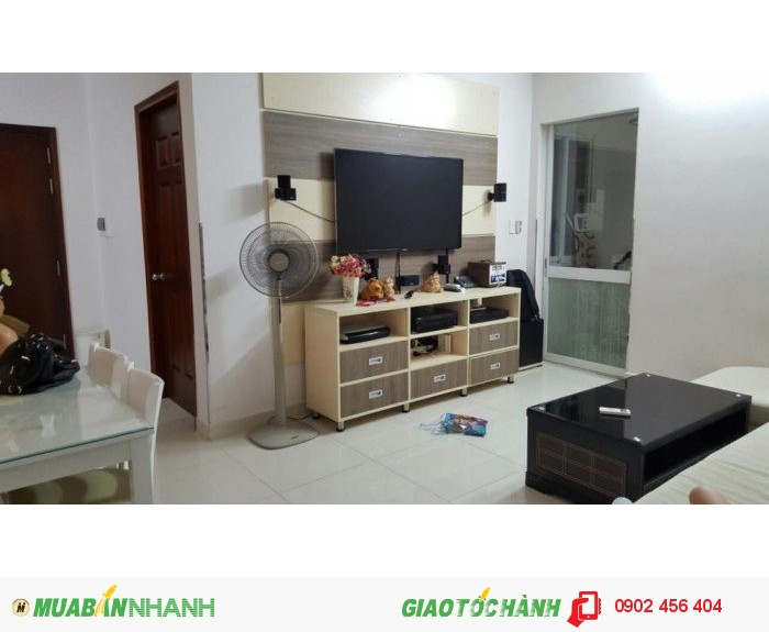 Cần bán gấp căn hộ Phú Thạnh, DT 110m2, 3PN, căn góc, giá 1.65 tỷ