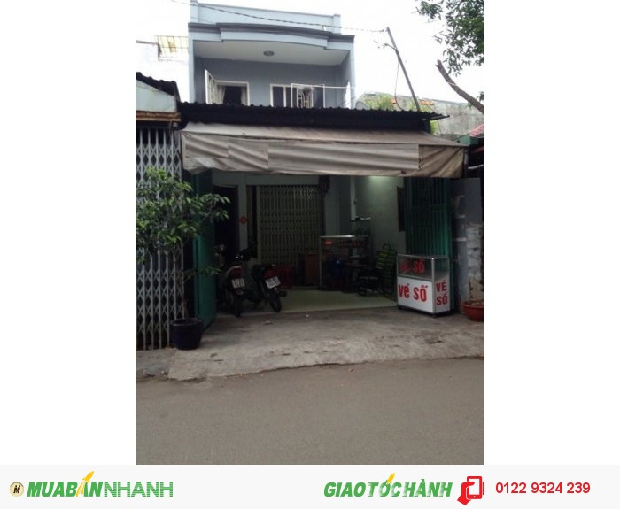 Bán Nhà Mặt Tiền 4x20m Trần Thánh Tông, Phường 15, Tân Bình.