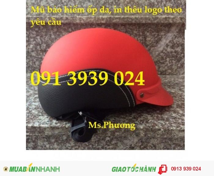 Sản xuất nón bảo hiểm giá rẽ, nón bảo hiểm in logo theo yêu cầu