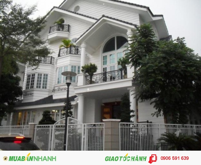 Biệt Thự Khu VIP BÀNH VĂN TRÂN, P.7 , Q.Tân Bình, DT 12x38. 19,5 tỷ.