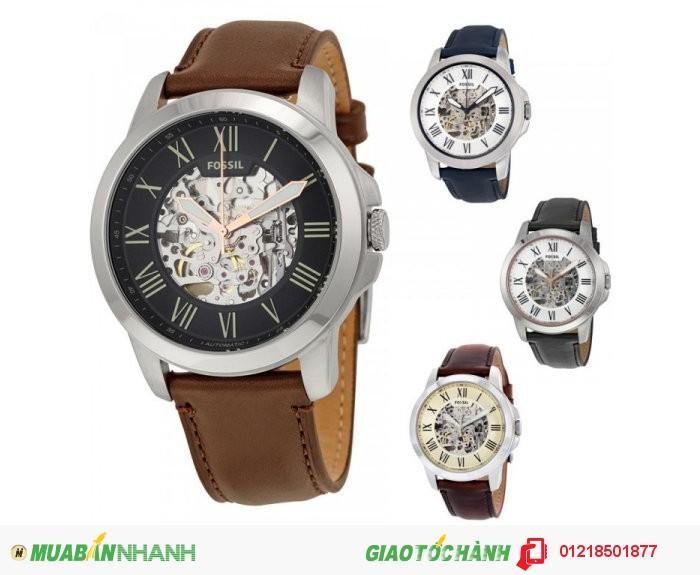 Fossil Automatic Grant Leather Mens Watch  Giá không bảo hành: 3.220.000 Đ  Giá bảo hà...
