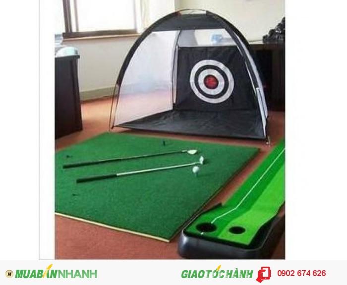 Xả kho thanh lý khung lều tập golf0