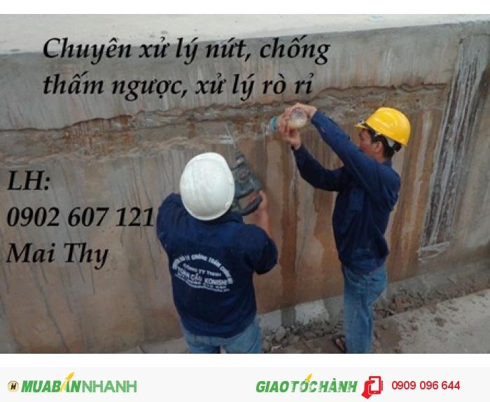 Xử lý nứt bê tông sàn, xử lý nứt bê tông chất lượng uy tín giá cạnh tranh toàn quốc
