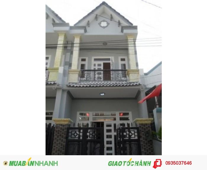 Nhà đẹp đường số 6 Lê Văn Quới, 4x13 (1 tấm thật). LH chị Diễm