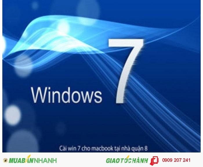 Dịch vụ cài win 7 cho macbook tại nhà quận 8