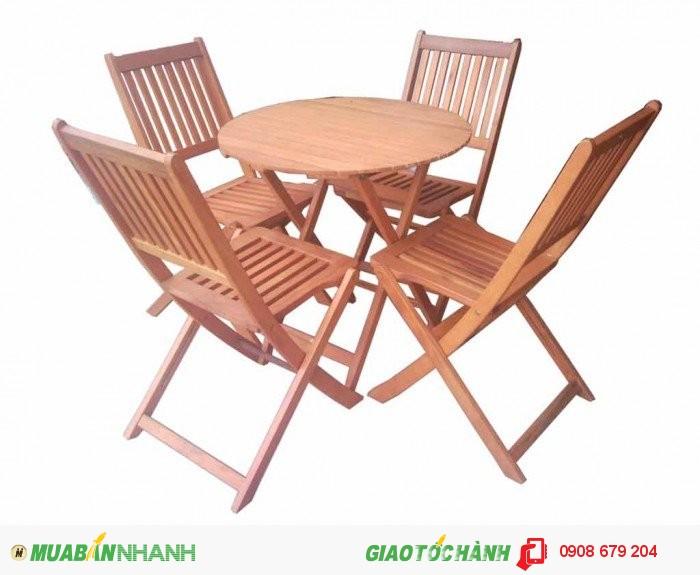 Bàn ghế gỗ quán nhậu giá rẻ3