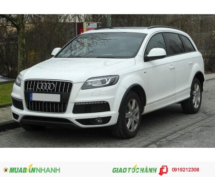 Cho thuê xe du lịch, thuê xe tháng Audi Q7 giá rẻ tại Hà Nội