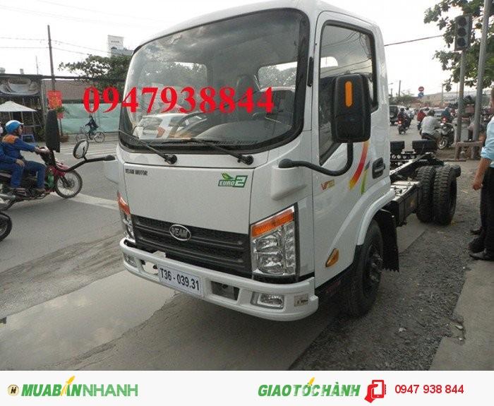 Bán xe tải 2,4 tấn đi thành phố VT252 đời 2016