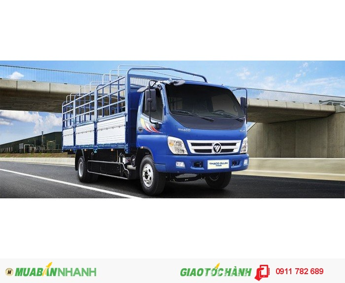 Mua xe tải nâng tải 7 tấn, Thaco Ollin 700B, Thaco Ollin 700C Trường Hải tại Hà Nội