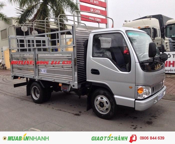Giá bán xe tải Jac 2.5T 2.5 tấn thùng dài 4.2m vay lãi suất thấp