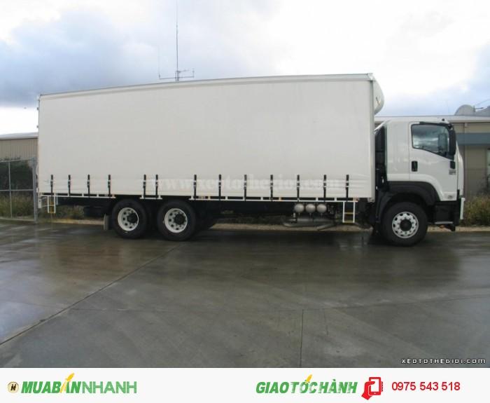 Xe tải Isuzu 15.6 tấn FVM34T (6x2)