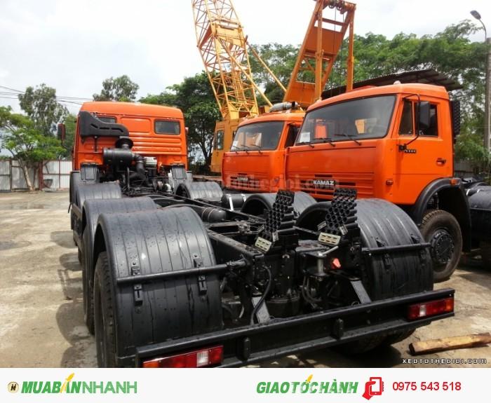 Xe tải Kamaz 6540 (8x4) 20 tấn 2 cầu 1